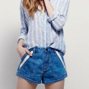 Free people - High Rise Shorts